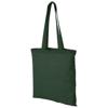 Carolina 100 g/m² cotton tote bag in green
