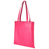 Zeus large non-woven convention tote bag in magenta