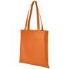 Zeus large non-woven convention tote bag in orange