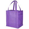 Liberty bottom board non-woven tote bag in lavender