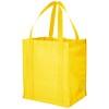 Liberty bottom board non-woven tote bag in yellow