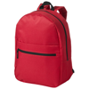 Vancouver dual front pocket backpack in red