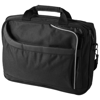 Anaheim 15.4'' security friendly laptop briefcase in black-solid