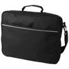 Kansas 15.4'' laptop briefcase in black-solid