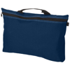 Orlando zippered conference bag with pen loop in navy