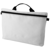 Orlando zippered conference bag with pen loop in white-solid