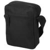 New York messenger bag in black-solid