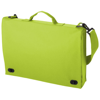 Santa Fe 2-buckle closure conference bag in apple-green