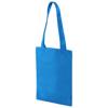 Eros small non-woven convention tote bag in aqua-blue