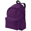 Urban covered zipper backpack in plum