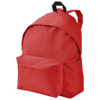 Urban covered zipper backpack in red