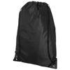 Condor polyester and non-woven drawstring backpack in black-solid