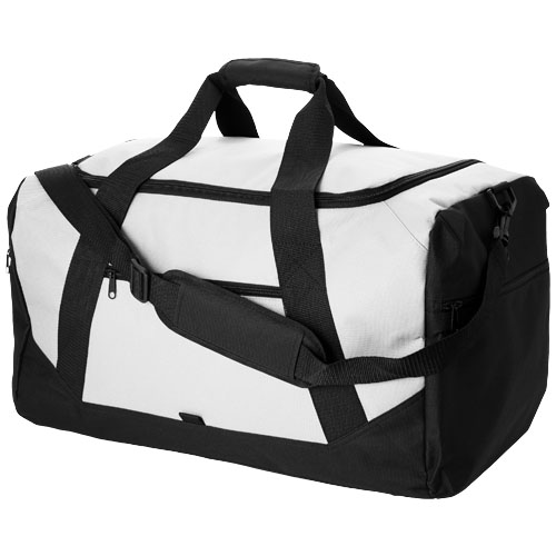 Columbia travel duffel bag in white-solid