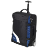 Wembley carry-on trolley in black-solid-and-blue