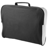 Florida conference bag in black-solid-and-white-solid