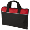 Tampa conference bag in black-solid-and-red