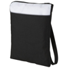 Miami shoulder bag in black-solid-and-white-solid