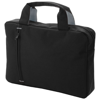 Detroit conference bag in black-solid-and-grey