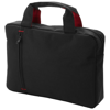 Detroit conference bag in black-solid-and-red