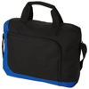 San Francisco conference bag in black-solid-and-royal-blue