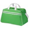 San Jose 2-stripe sports duffel bag in bright-green