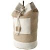 Goa sailor duffel bag made from jute in natural