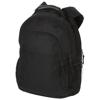 Journey 15.4'' heavy-duty handle laptop backpack in black-solid