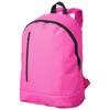 Boulder vertical zipper backpack in neon-pink