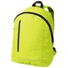 Boulder vertical zipper backpack in neon-yellow