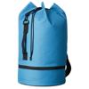 Idaho sailor zippered bottom duffel bag in aqua
