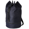 Idaho sailor zippered bottom duffel bag in navy