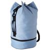 Idaho sailor zippered bottom duffel bag in ocean-blue