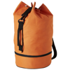 Idaho sailor zippered bottom duffel bag in orange