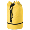 Idaho sailor zippered bottom duffel bag in yellow