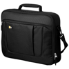 Heff 15.6'' laptop and tablet briefcase in black-solid