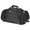 Proton travel duffel bag in black-solid