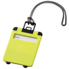 Taggy luggage tag in lime