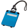 Taggy luggage tag in neon-blue