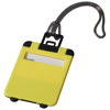 Taggy luggage tag in neon-yellow