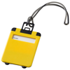Taggy luggage tag in yellow