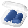 Serenity earplugs with travel case in royal-blue
