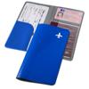 Voyageur travel wallet in blue