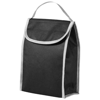 Lapua non woven lunch cooler bag in black-solid
