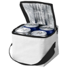 Tromso 4-can cooler bag in white-solid