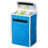 Uppsala cooler lunch bag in aqua-blue