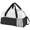 Energy duffel bag in black-solid-and-white-solid-and-grey