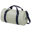 York duffel in grey-and-navy