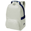 York backpack in grey-and-navy