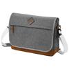 Echo 14'' laptop and tablet shoulder bag in grey-melange