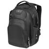Stratagem 17'' laptop backpack in black-solid